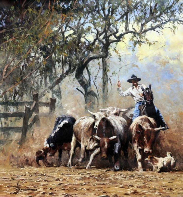 The | Artists C & I: Molnar (2), Cox, Grelle, Hagan | Cowboy