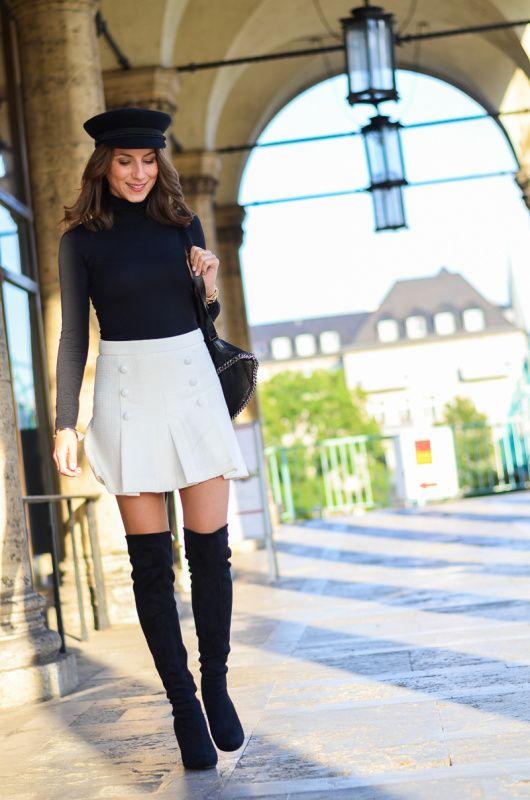 Outfit :: Cropped Flare Jeans | Véjà Du Modeblog aus