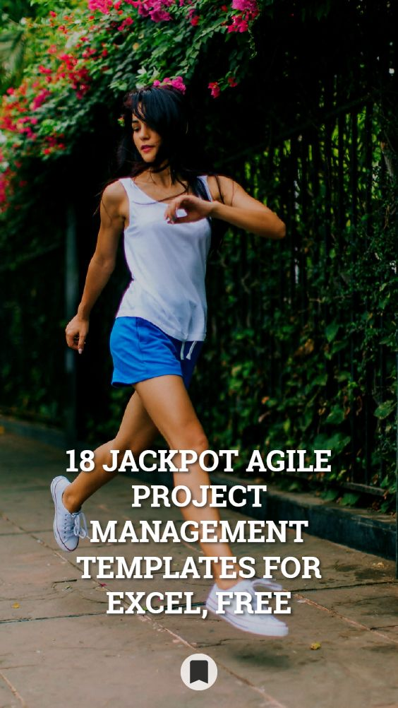 18 Jackpot Agile Project Management Templates for Excel, Free