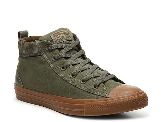6a083bbb73a1c9 Men Chuck Taylor All Star Street Camo High-Top Sneaker - Men s -Olive