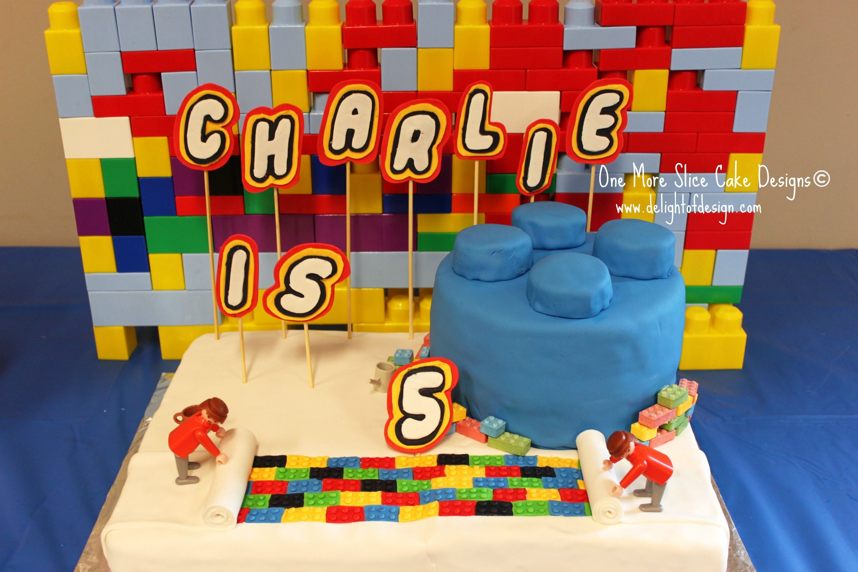 Birthday Ideas For 5 Year Old Boys Lego Cake A Yr Cakepins
