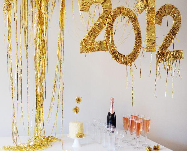 Decorazioni Fai Da Te Per Feste : Decorazioni fai da te per un capodanno alla grande idee feste