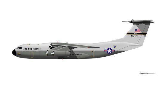 C-141A Starlifter | Cargo aircraft, Lockheed, Military aircraft