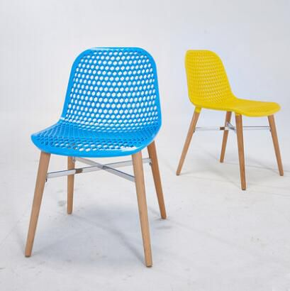 Classic Wooden Sofa Set, Yingyi Free Shipping Modern Plastic Dining Chair Without Arms Blue Yellow Red Colors Plastic Dining Chairs Furniture Home Furniture