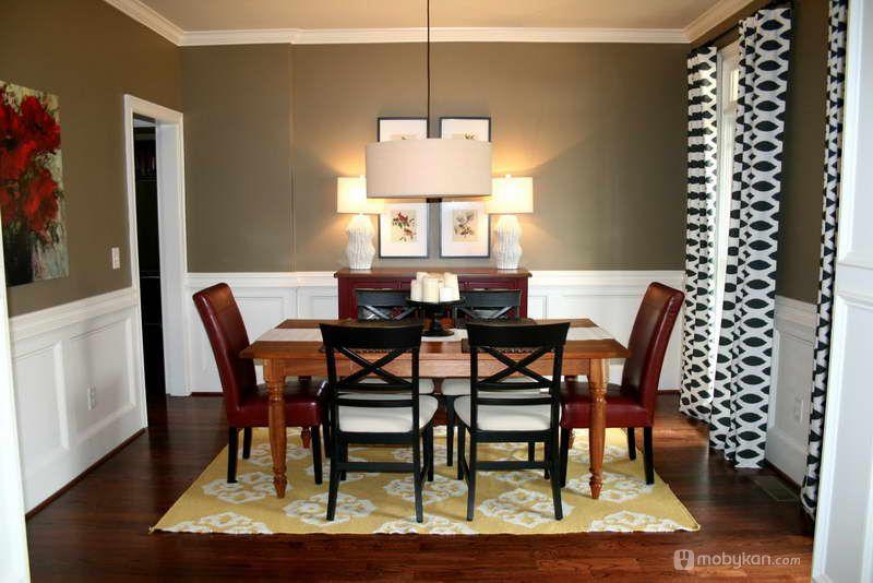 الوان دهانات مميزه افكار ل الوان الدهان مجلة موبيكان Dining Room Paint Colors Dining Room Colors Dining Room Paint