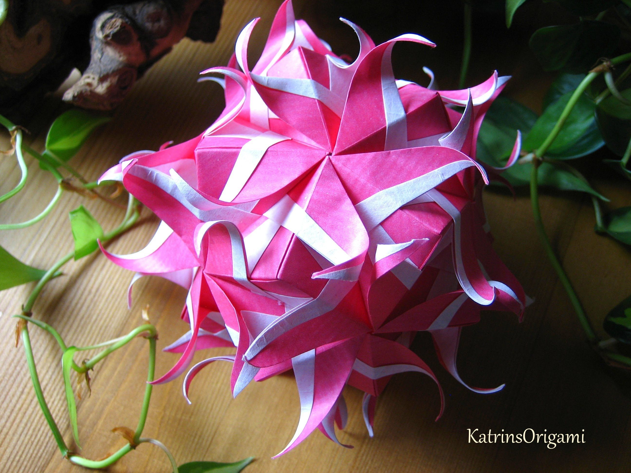 Origami neptune kusudama paper crafts pinterest origami neptune kusudama pooptronica