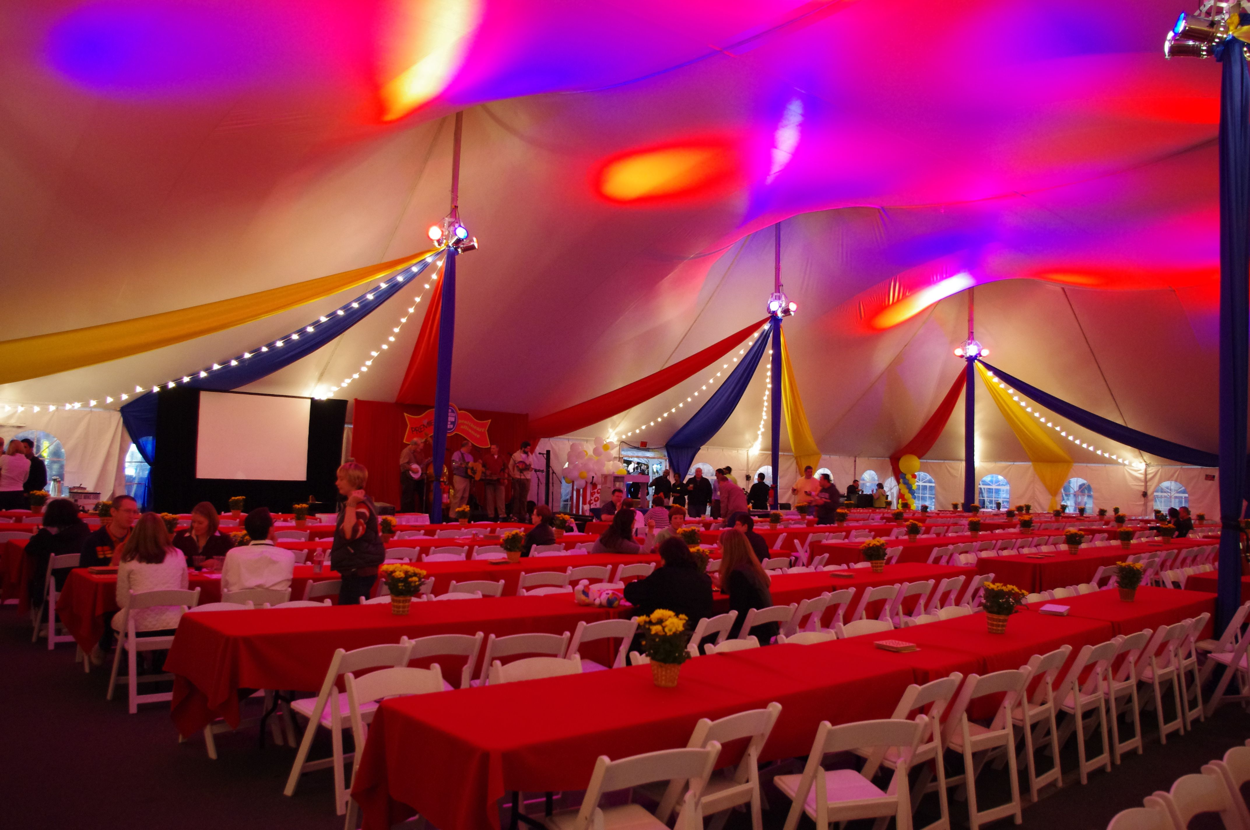 Carnival themed corporate event | ©Sterling By Design | Inspiring