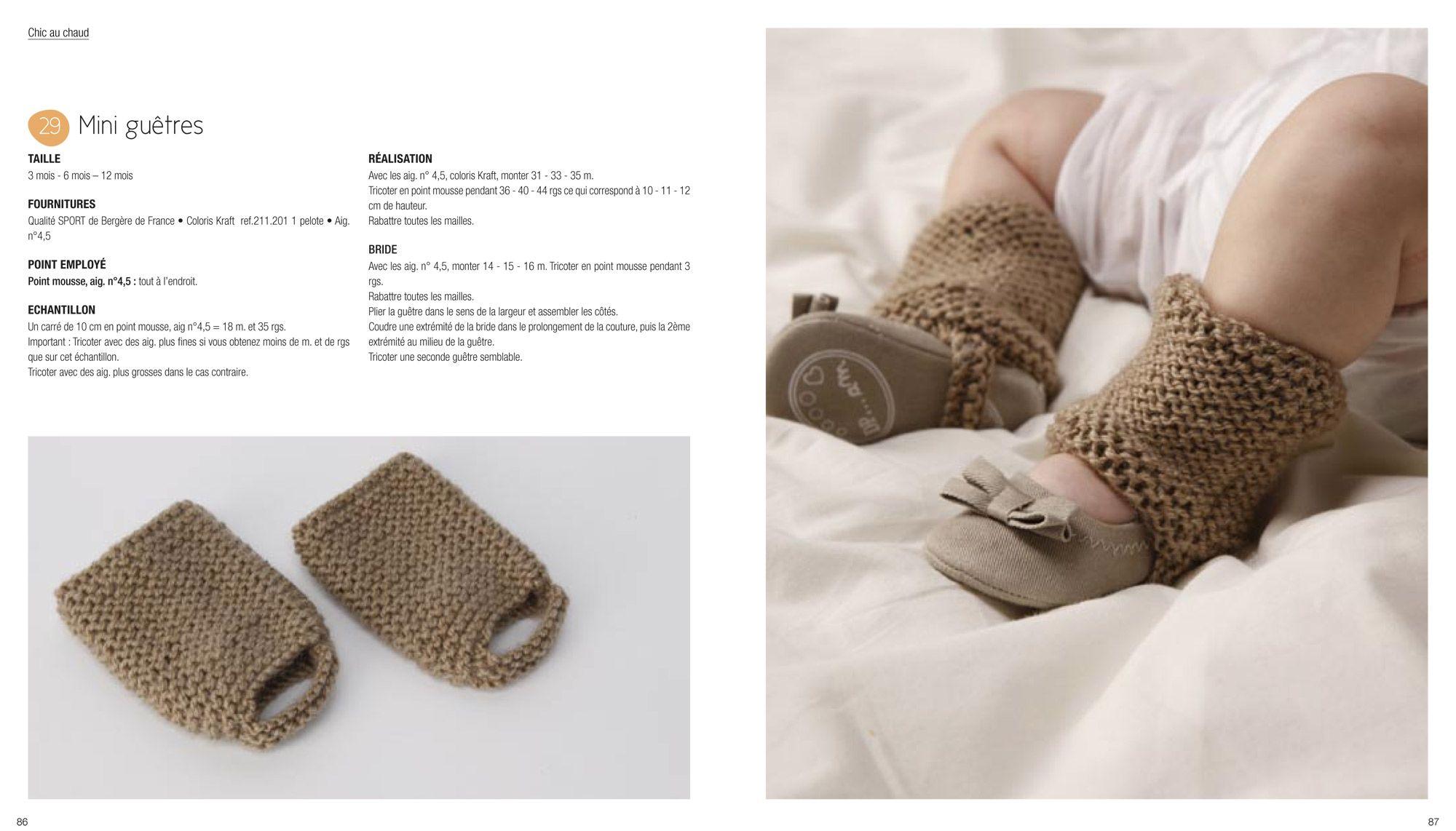 accessoires tricot pour bebe. Black Bedroom Furniture Sets. Home Design Ideas