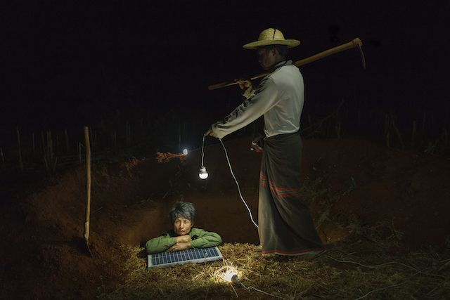 Solar Portraits in Myanmar