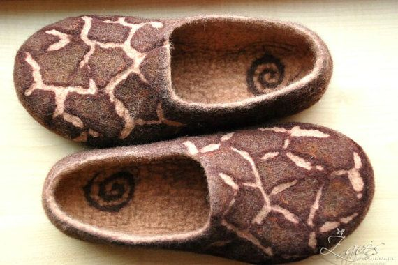 felted slippers $63