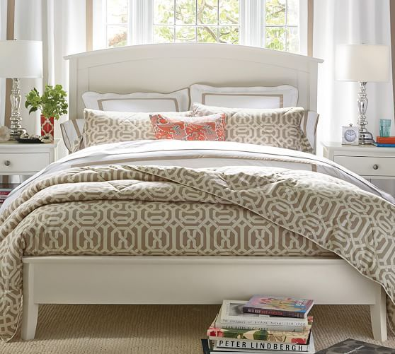 Chloe Bed White Pottery Barn Bedroom Furniture Sets Pottery