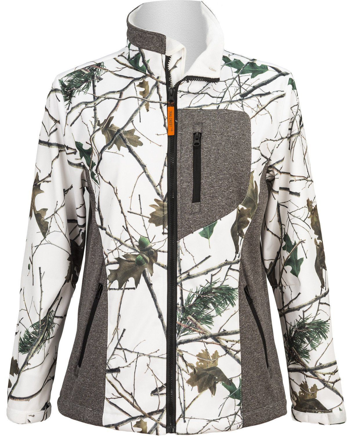 d36bfdfc3d49b Women's Snow Forest Camo Custom Xrg Soft Shell Jacket | Fall and ...