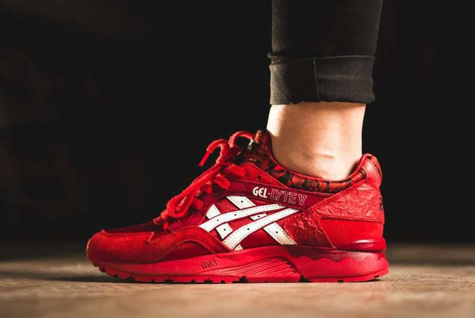 asics tiger valentine pack gel lyte v rose