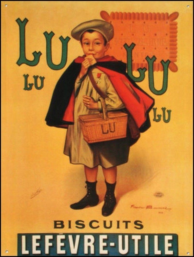 Bien-aimé petit lu | reclame van vroeger | Pinterest | Vieux, Affiches et Pub LR77