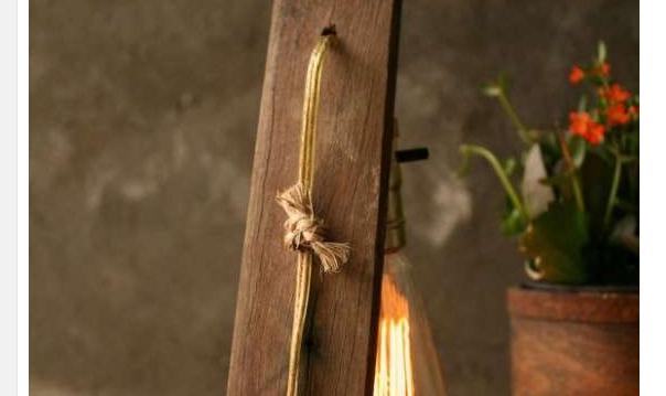 Lampadario In Legno Fai Da Te : Ecco idee per realizzare in modo semplice un lampadario in