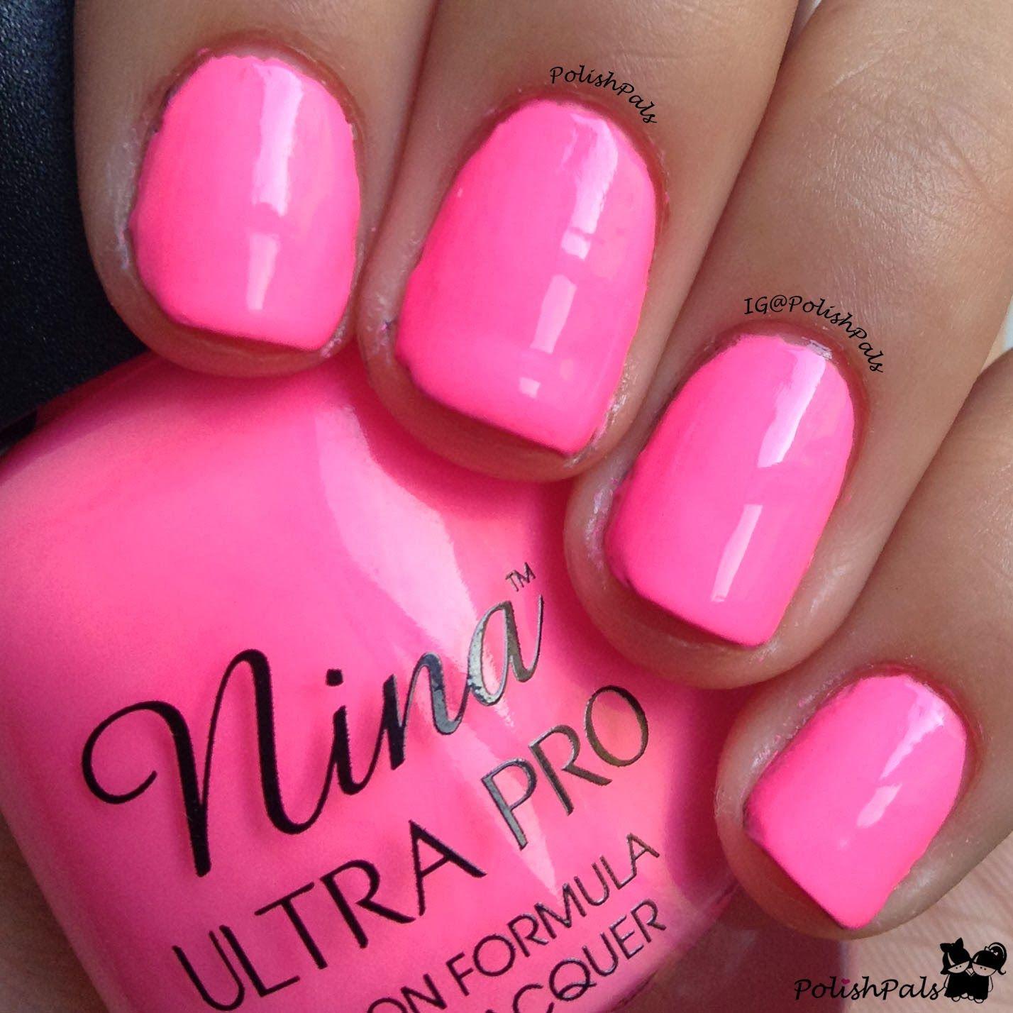 Nina Ultra Pro - Fuscia Rage.. Got at Sally\'s and I\'m pretty ...