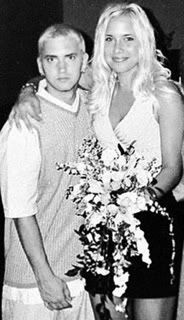 Eminem and Kim 2006 | Celebrity wedding photos, Celebrity ...