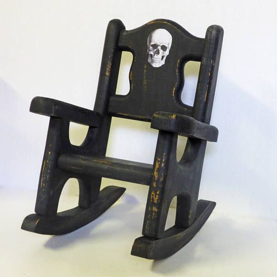 Astonishing Gothic Doll Furniture Wood Rocking Chair From Nacreous Ibusinesslaw Wood Chair Design Ideas Ibusinesslaworg