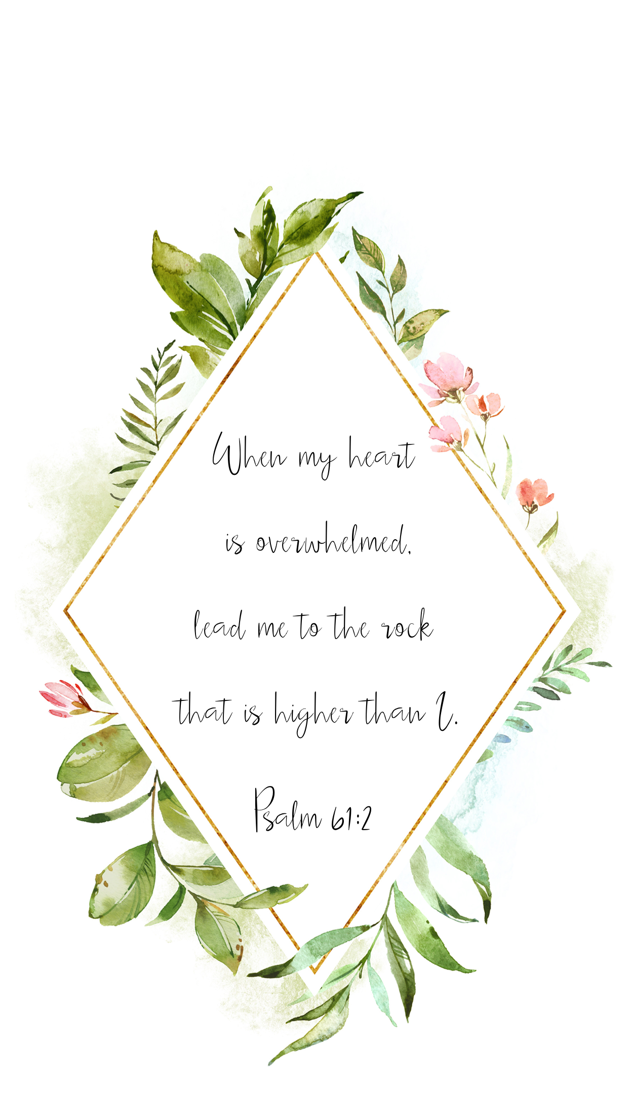 Psalm 612 Christian Bible Verse IPhone Wallpaper