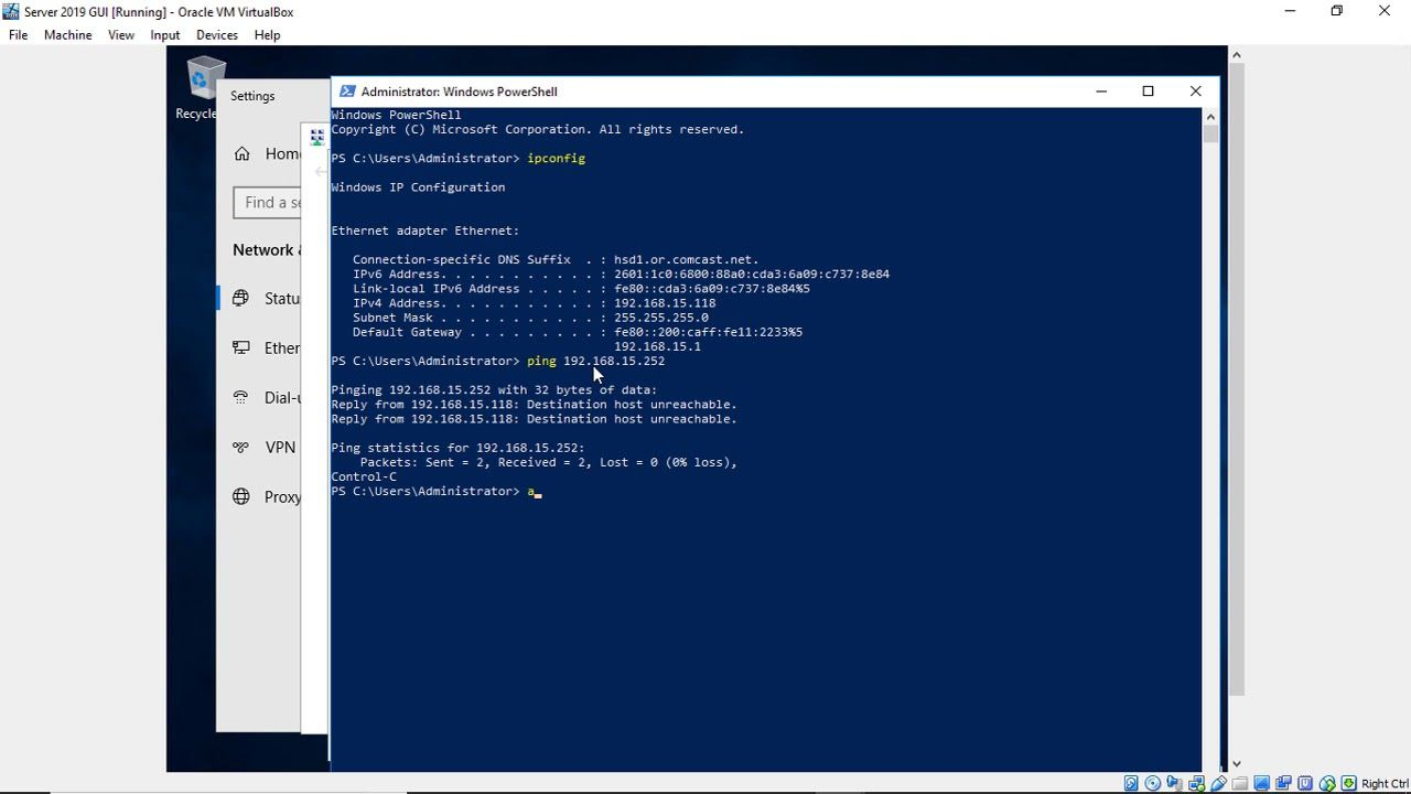 How to change the IP address in Windows Server 2019 | Tech