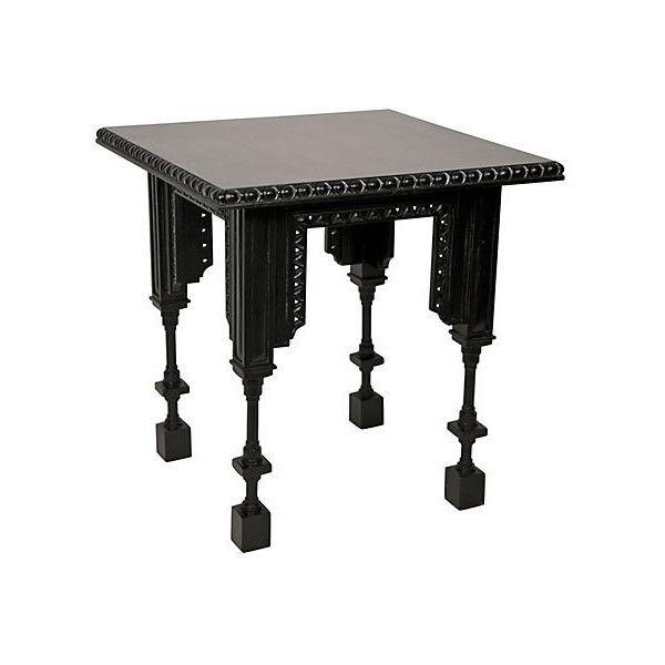 Noir Luxor Side Table Black Standard Side Tables (36,685 PHP