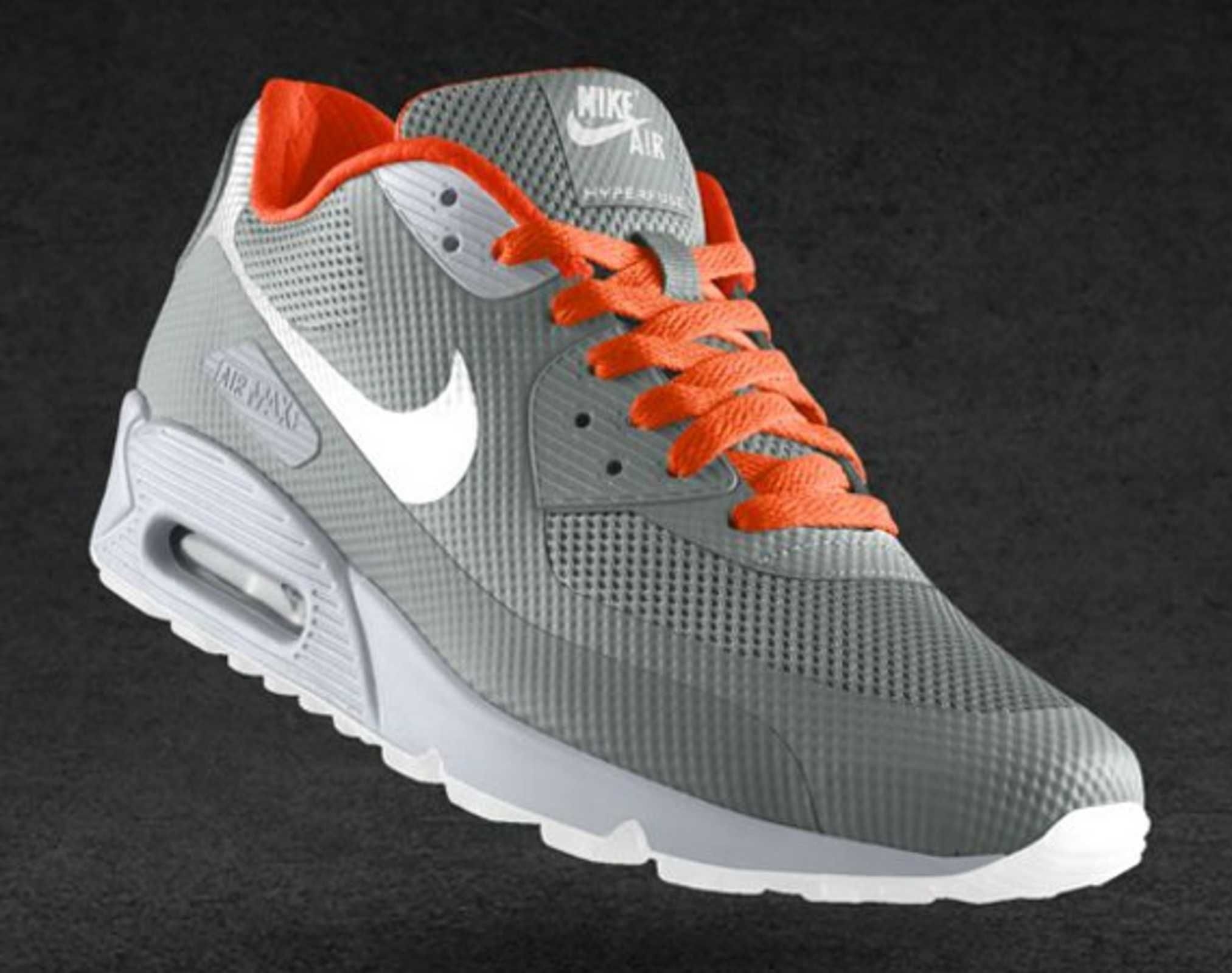 NIKEiD Air Max 90 Hyperfuse Design Options | Running shoes