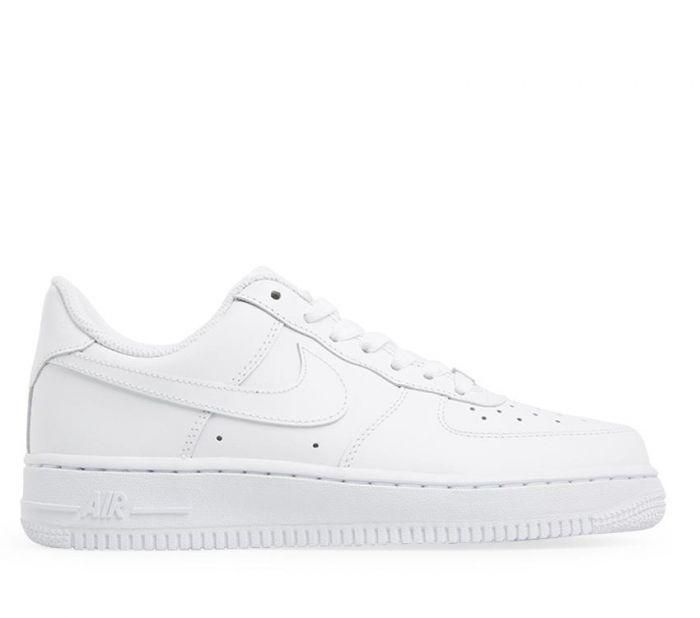the best attitude 3f870 24003 Shop Nike Womens Air Force 1  07 White Online   Platypus Shoes