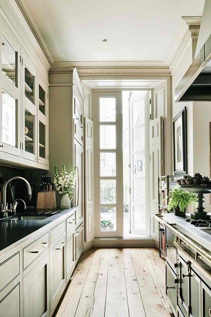 Kitchen after a complete gut job interior designer jane gowers created a light filled