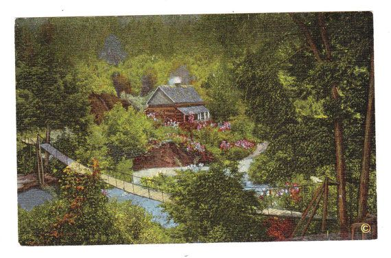 Hey, I found this really awesome Etsy listing at https://www.etsy.com/listing/204183107/smoky-national-park-vintage-postcard