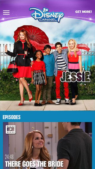 WATCH Disney Channel IOS App A Few Series & Shows are