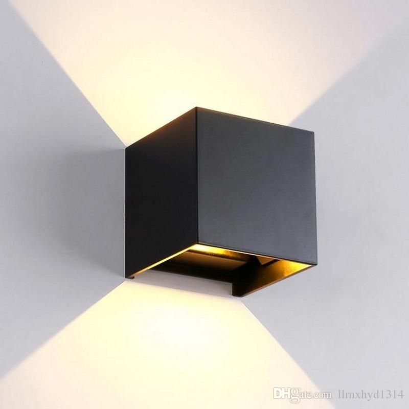 Wholesale Cheap Led Cube Wall Lamp Brand Outdoor Indoor