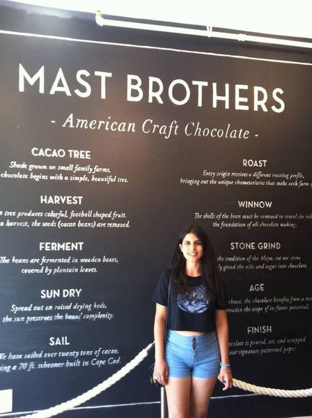 Mast Brothers Factory in Williamsburg