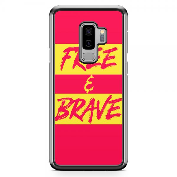 Samsung Galaxy S9 Plus Transparent Edge Phone Case Free And