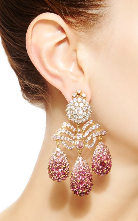 CHANDELEAR EARRINGS -MARQUISE PALACE
