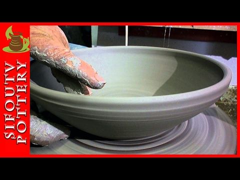 Pottery for Beginners – How to Make a Pottery Plate – Pottery making a Plate