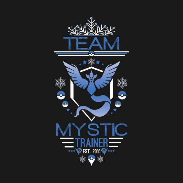 Check out this awesome 'TEAM+MYSTIC' design on @TeePublic!
