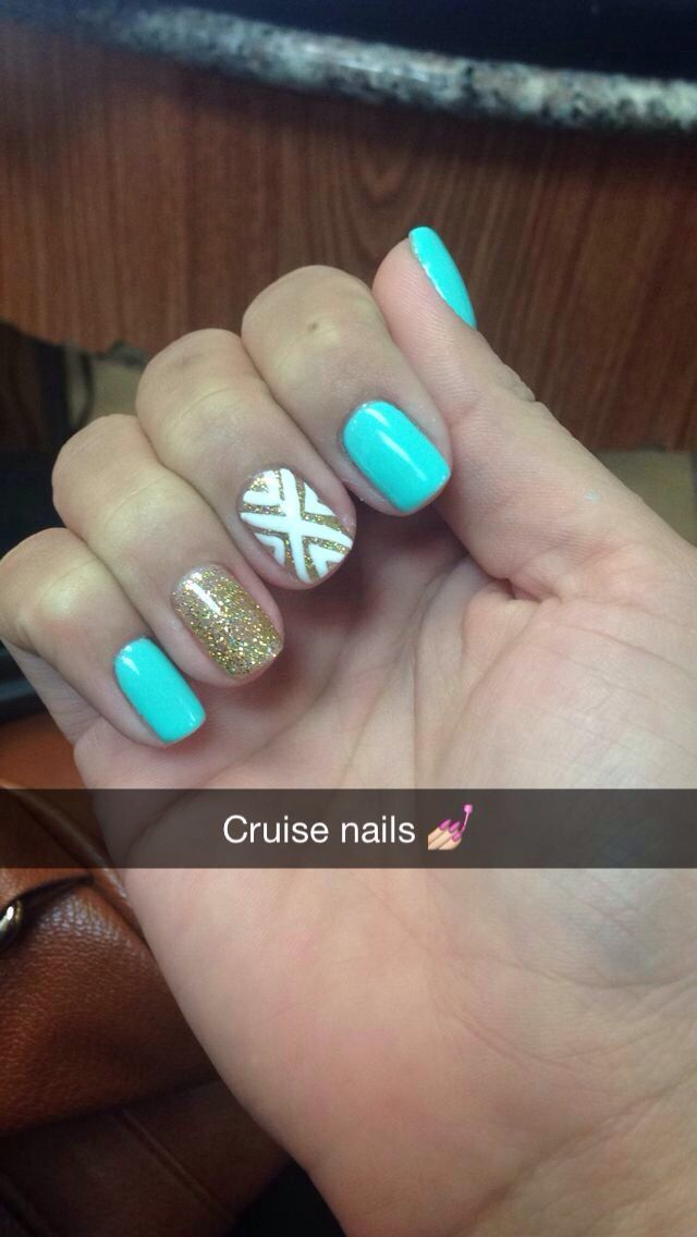 My Cruise Nails Design