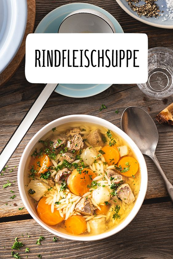 Photo of Rindfleischsuppe