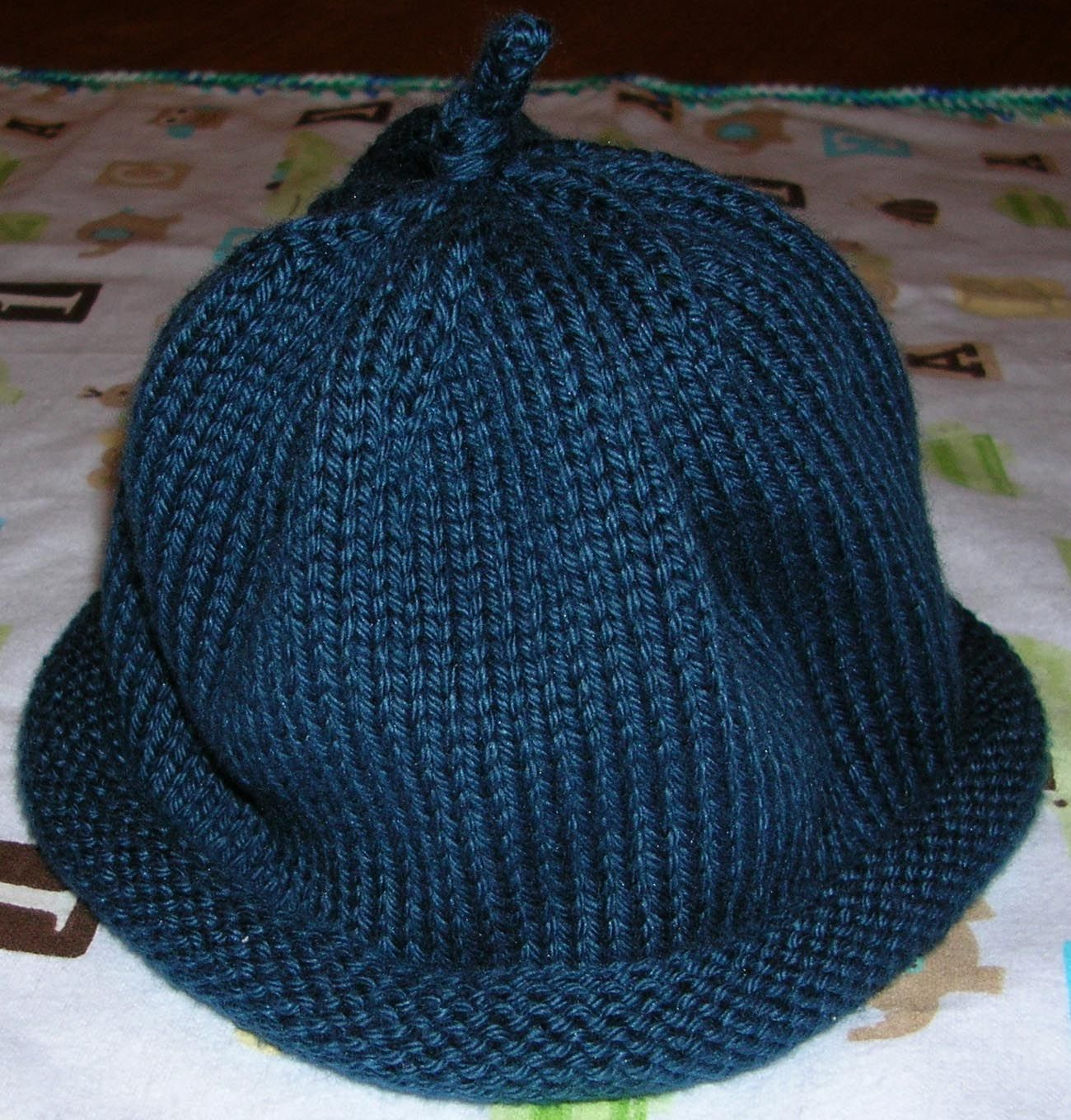 Serenity Knits: Simple Baby Hat Pattern   Knitting, Baby ...