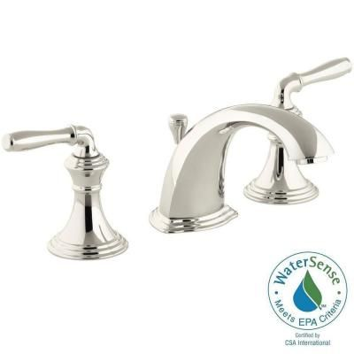 KOHLER Devonshire In Widespread Handle LowArc Bathroom - 8 widespread bathroom sink faucets for bathroom decor ideas