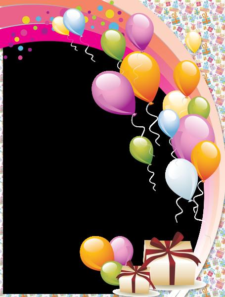 Transparent Birthday Frame Birthday Card Pinterest