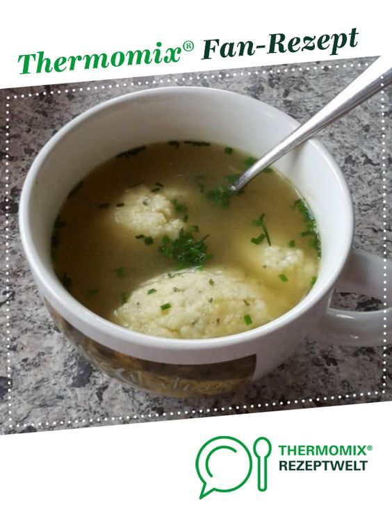 Grießnockerl-Suppe