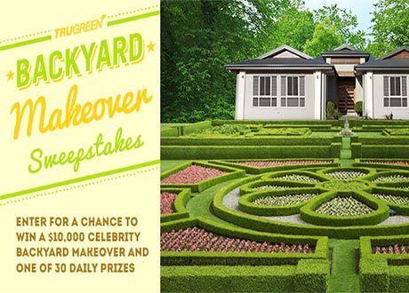 Free Backyard Makeover Contest - BACKYARD HOME
