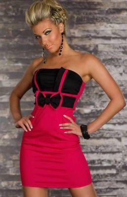 Dámské plesové šaty Elegance červené  34e81ddf03