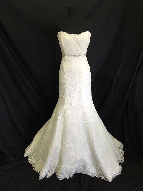 Monique Lhuillier Bl1404 Size 6 Wedding Dress Oncewed Com Dresses Wedding Dresses Atlanta Boutiques