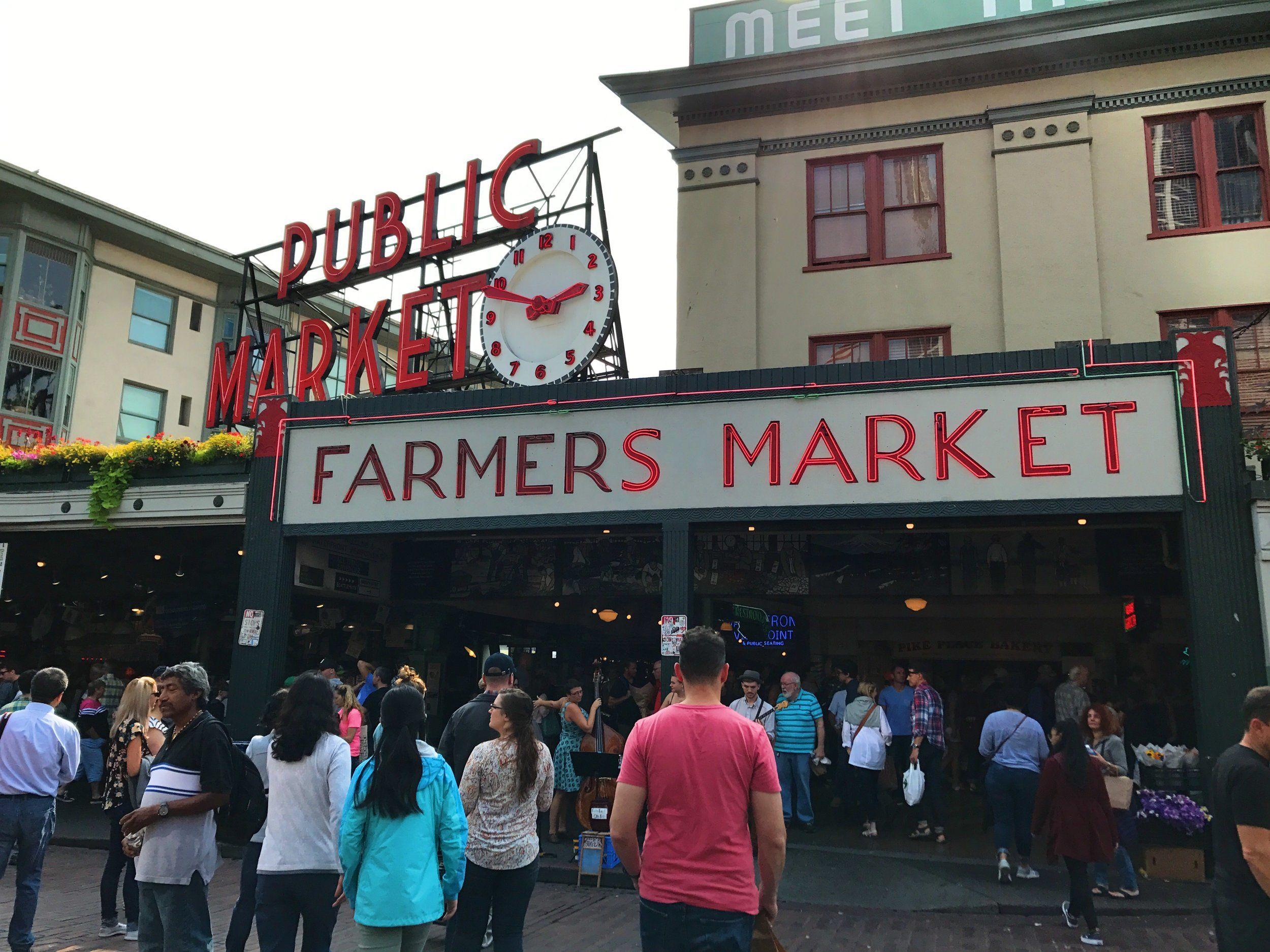 A Walk Through Pike Place Market Seattle