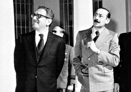 Image result for photos of henry kissinger with Jorge Videla