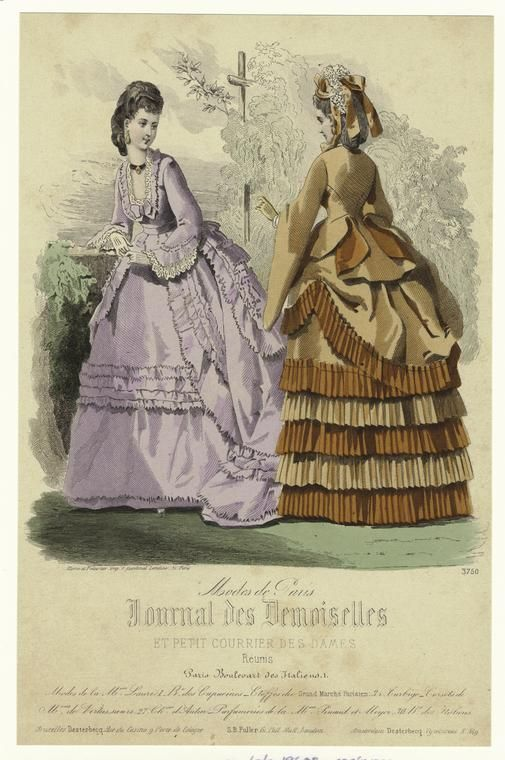 Costume -- 1860s -- French