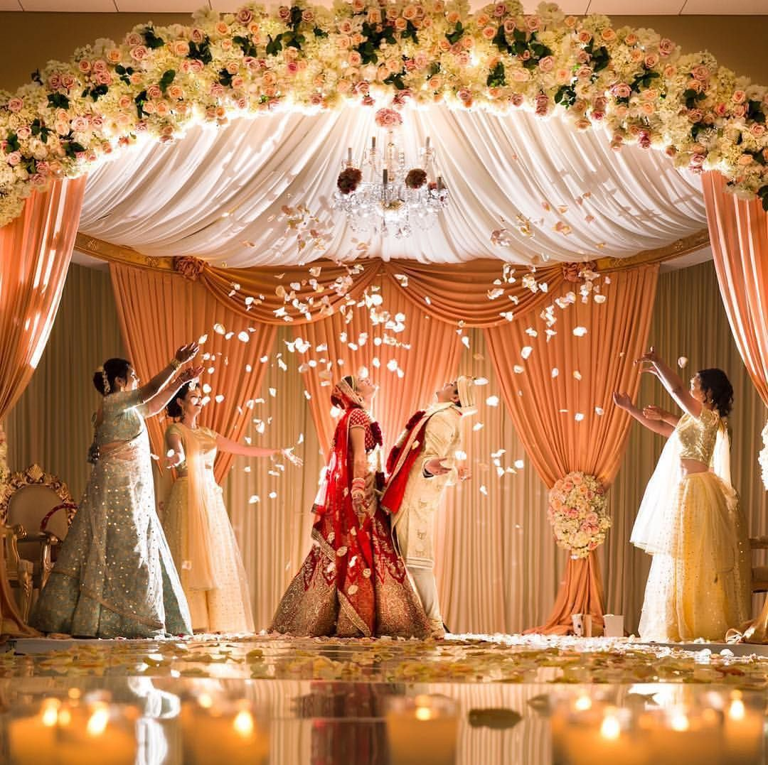Everyone Should Have A Photo Like This Love Mandap Indianwedding Wedding Stage Decorations Hindu Wedding Decorations Indian Wedding Decorations Receptions