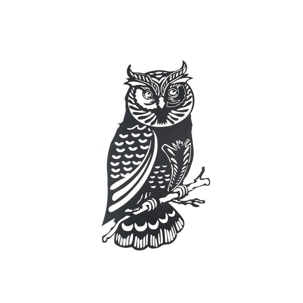 Sunjoy owl metal black 41 inch laser cut wall decor iron laser sunjoy owl metal 41 inch laser cut wall decor amipublicfo Gallery